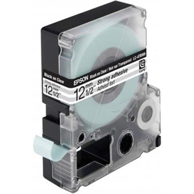 Epson Black/Transparent 12mm (9m) tape