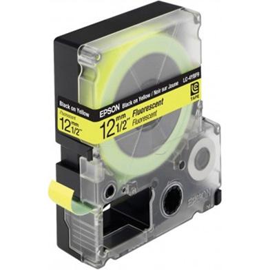 Black/Yellow 12mm (9m) tape