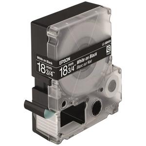 Epson White/Black 18mm (9m) tape