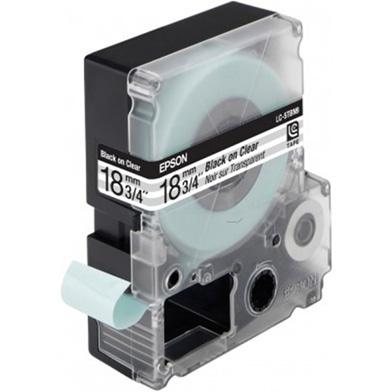 Black/Transparent 18mm (9m) tape