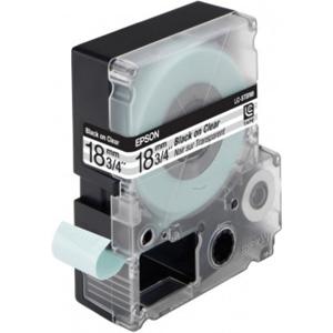 Epson Black/Transparent 18mm (9m) tape