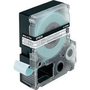 Epson White/Transparent 18mm (9m) tape