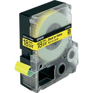 Epson Black/Yellow 18mm (9m) tape
