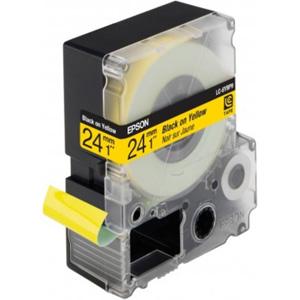 Epson Black/Yellow 24mm (9m) tape
