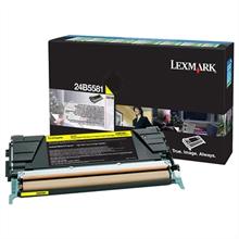 Lexmark 24B5581 24B5581 Yellow Return Program Toner Cartridge (10,000 Pages)