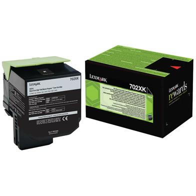 Lexmark 70C2XK0 Black Extra High Cap Toner Cartridge (8,000 Pages)