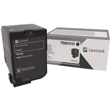 Lexmark 75B0010 Black Toner Cartridge (13,000 Pages)