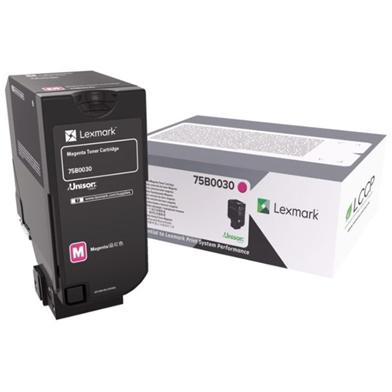 Lexmark 75B0030 Magenta Toner Cartridge (10,000 Pages)