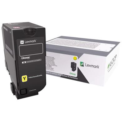Lexmark 75B0040 Yellow Toner Cartridge (10,000 Pages)