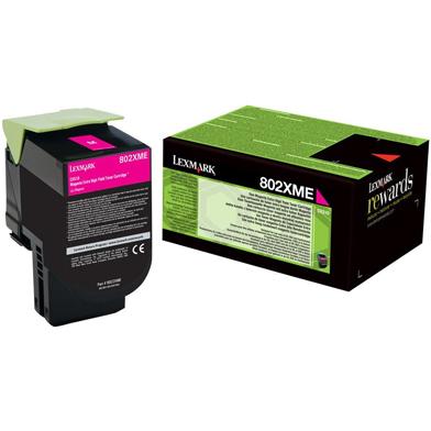 Lexmark 80C2XME Extra High Capacity Magenta Toner Cartridge (4,000 Pages)