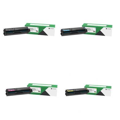 Lexmark LEXC342XVL C342X Extra High Capacity Toner Value Pack CMYK (4,500 Pages)