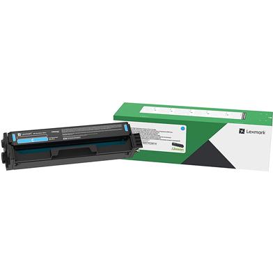 Lexmark C332HC0 Cyan Return Program Toner Cartridge (2,500 Pages)