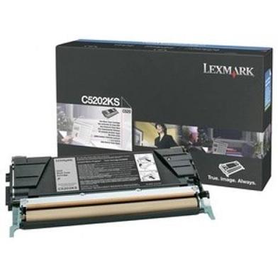 Lexmark C5202KS C5202KS Black Toner Cartridge (1,500 Pages)