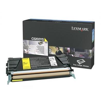 Lexmark C5202YS C5202YS Yellow Toner Cartridge (1,500 Pages)