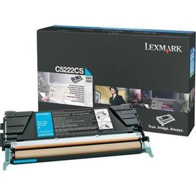 Lexmark C5222CS Cyan Toner Cartridge (3,000 Pages)