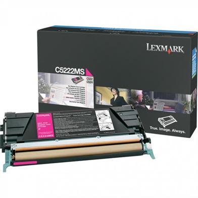 Lexmark C5222MS Magenta Toner Cartridge (3,000 Pages)