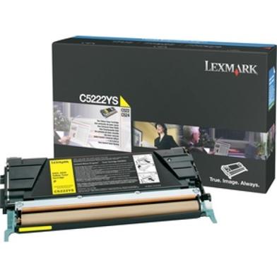 Lexmark C5222YS Yellow Toner Cartridge (3,000 Pages)