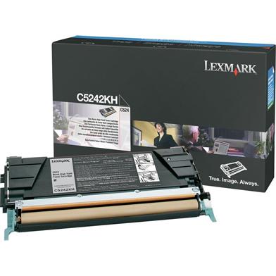 Lexmark C5242KH C5242KH Black High Yield Toner Cartridge (8,000 Pages)