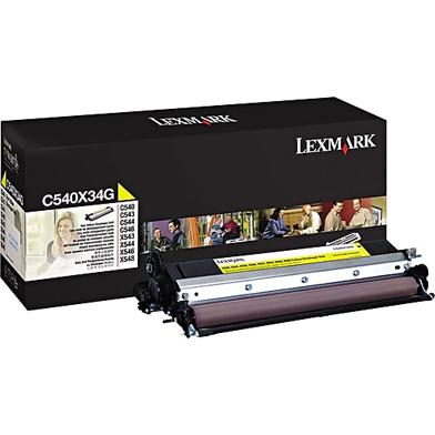 Lexmark C540X34G Yellow Developer Unit (30,000 Pages)