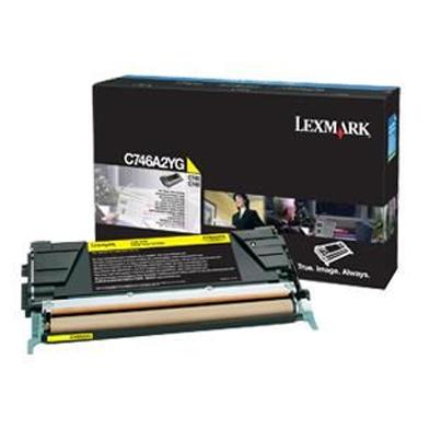 Lexmark C746A2YG C746A2YG Yellow Toner Cartridge (7,000 Pages)