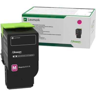 Lexmark 78C20M0 Magenta Return Programme Toner Cartridge (1,400 Pages)