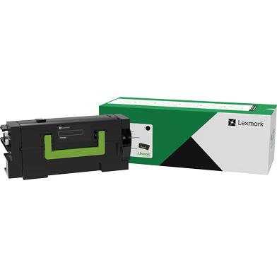 Lexmark 58D2U00 Black Ultra High Yield Return Program Toner Cartridge (55,000 Pages)