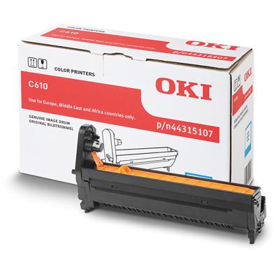 OKI 44315107 Cyan Image Drum (20,000 Pages)
