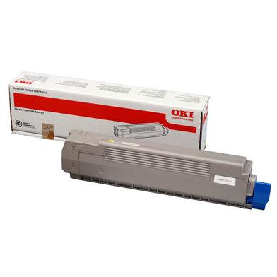 OKI Yellow Toner Cartridge (7300 Pages)