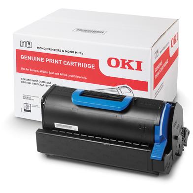 OKI Black Toner Cartridge (18,000 Pages)