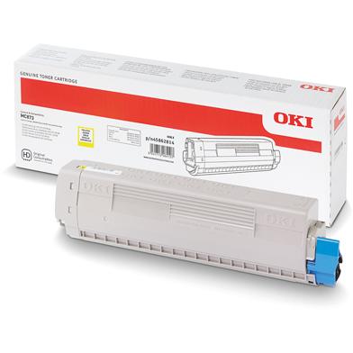 OKI High Capacity Yellow Toner Cartridge (10,000 Pages)