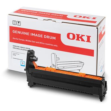 OKI 46507307 Cyan Image Drum (30,000 Pages)