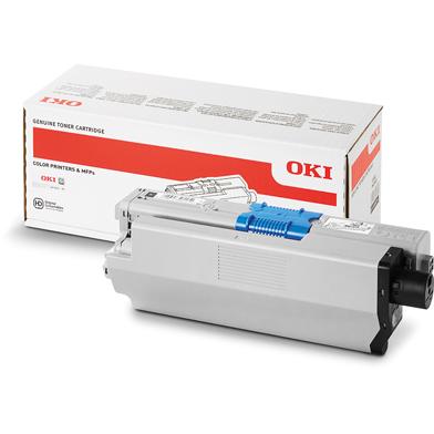 OKI 46508712 High Capacity Black Toner Cartridge (3,500 Pages)