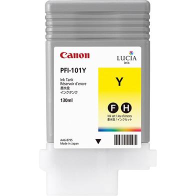 Canon PFI-101Y Yellow Ink Cartridge (130ml)