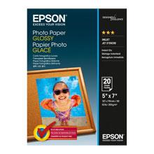 Epson Photo Paper Glossy 13x18cm 20 sheet