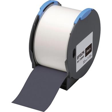 Epson 50mm x 15m Black Tape
