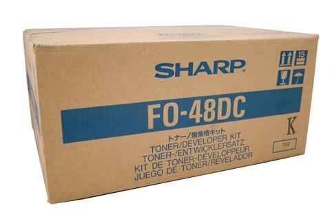 Sharp FO-48DC Black Toner Cartridge (1,500 Pages)