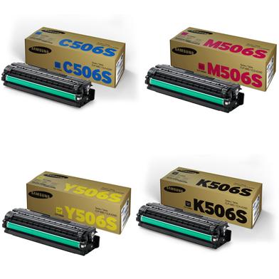 Samsung  506 Toner Rainbow Pack CMY(1.5K) K (2K)