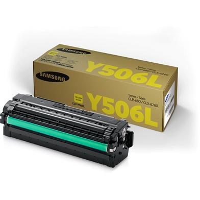 Samsung SU515A CLT-Y506L Yellow Toner Cartridge (3,500 Pages)