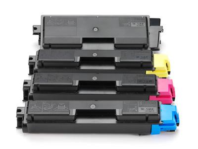 Kyocera TK590 Toner Multipack (5k CMY, 7k Black)