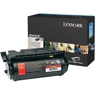 Lexmark X644X21E Extra High Capacity Black Toner Cartridge (32,000 Pages)