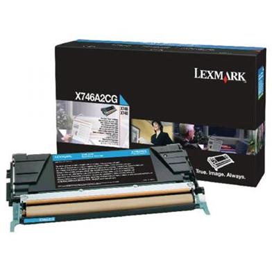 Lexmark X746A2CG Cyan Toner Cartridge (7,000 Pages)