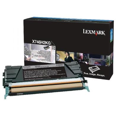 Lexmark X746H2KG High Capacity Black Toner Cartridge (12,000 Pages)