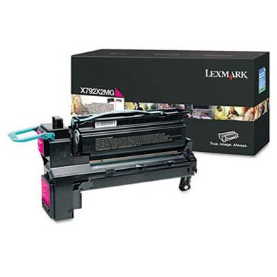 Lexmark Extra High Capacity Magenta Toner Cartridge (20,000 Pages)