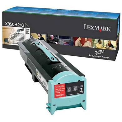 Lexmark X850H21G Black Toner Cartridge (30,000 Pages)