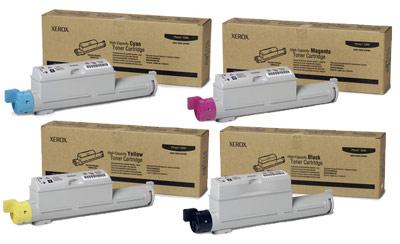 Xerox Toner Rainbow Pack CMY (12K) + Black (18K)