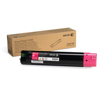 Xerox 106R01508 Magenta High Capacity Toner Cartridge (12,000 Pages)