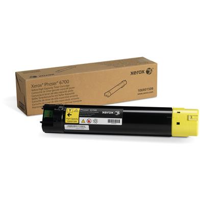 Xerox 106R01509 Yellow High Capacity Toner Cartridge (12,000 Pages)