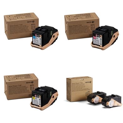 Xerox  Std-Cap Toner Value Pack CMY (4.5K) Black (10K)