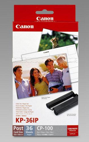 Canon KP-36IP Ink Cassette/Paper Set (Postcard Size)