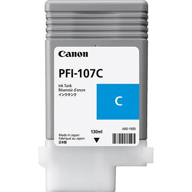 Canon PFI-107C Cyan Ink Cartridge (130ml)